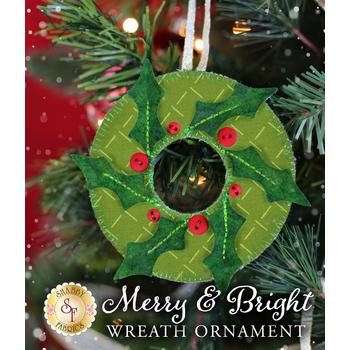 Merry & Bright Ornament Kit - Wreath