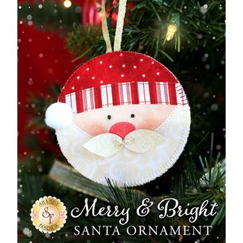 Merry & Bright Ornament Kit - Santa