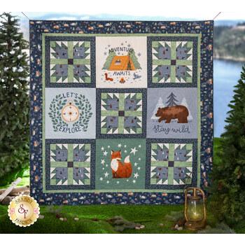 Camp Woodland Quilt Kit