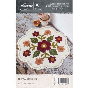 In Full Bloom Mat Pattern