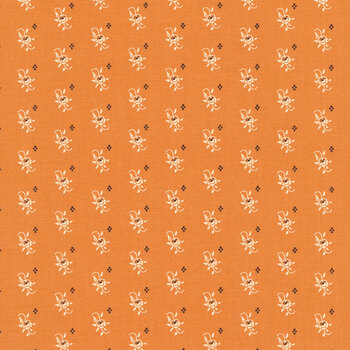 All Hallow's Eve 20352-11 Pumpkin by Fig Tree Quilts for Moda Fabrics