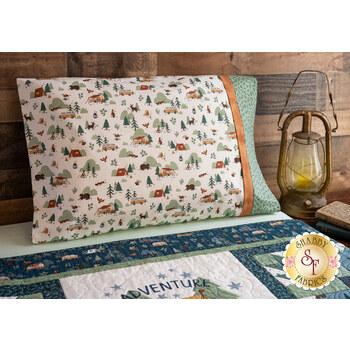 Magic Pillowcase Kit - Camp Woodland - Standard Size - Cream