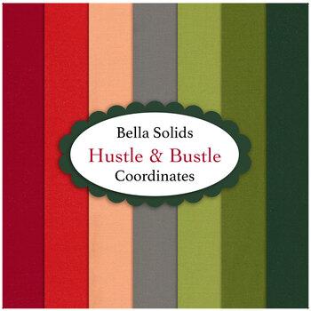 Bella Solids  7 FQ Set - Hustle and Bustle Coordinates by Moda Fabrics