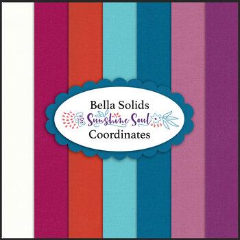 Bella Solids  7 FQ Set - Sunshine Soul Coordinates by Moda Fabrics
