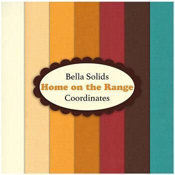 Bella Solids  7 FQ Set - Home on the Range Coordinate Set by Moda Fabrics