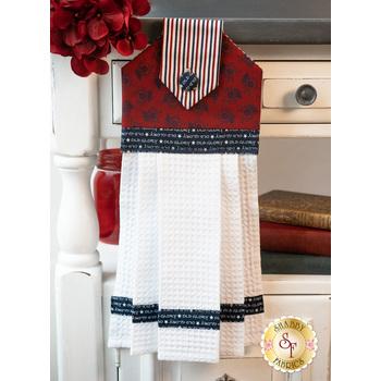 Hanging Towel Kit - American Gathering - Red