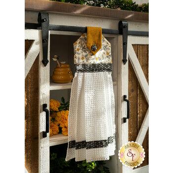 Hanging Towel Kit - Bee Grateful - Cream