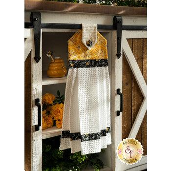 Hanging Towel Kit - Bee Grateful - Yellow