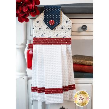 Hanging Towel Kit - American Gathering - White