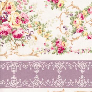 Rose Garden 2410-12D by Quilt Gate Fabrics
