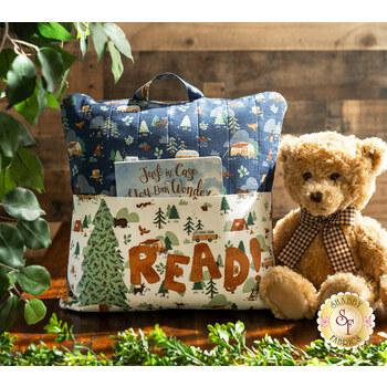 Reading Pillow Kit - Camp Woodland - Laser Cut