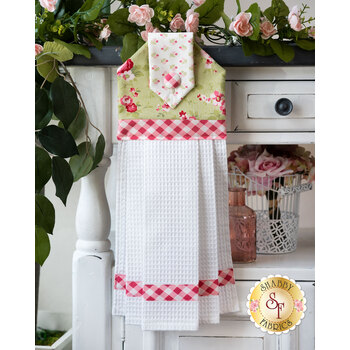 Hanging Towel Kit - Sophie - Green