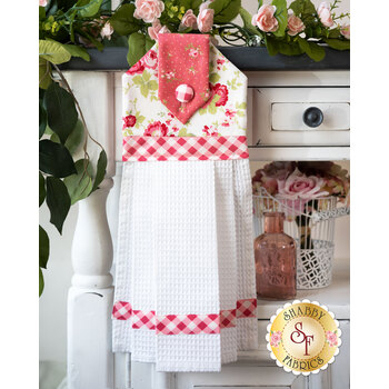 Hanging Towel Kit - Sophie - White