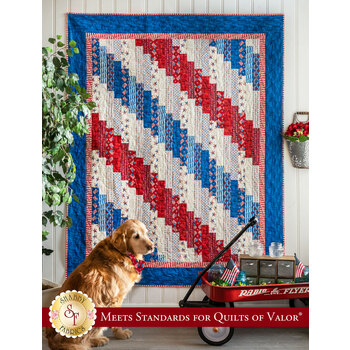 Standing Strong Quilt Kit - America the Beautiful