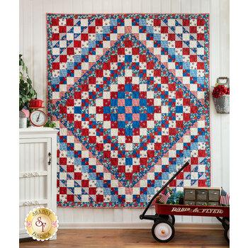 Trip Around The World Quilt Kit - America the Beautiful