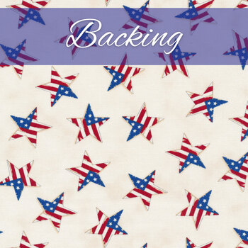Standing Strong Quilt Kit - America the Beautiful - Backing - 4yds