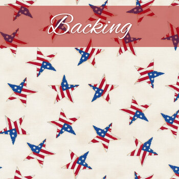 Trip Around The World Quilt Kit - America the Beautiful - Backing - 5 yds