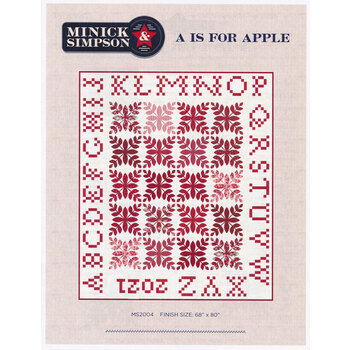 A is for Apple Pattern