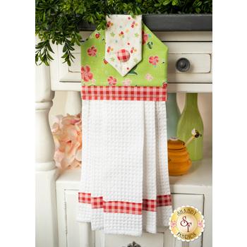 Hanging Towel Kit - Strawberry Honey - Green