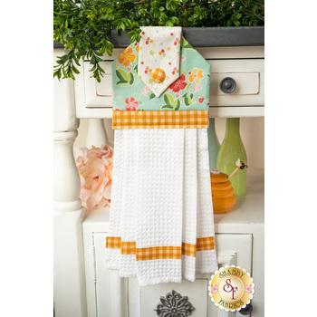 Hanging Towel Kit - Strawberry Honey - Aqua
