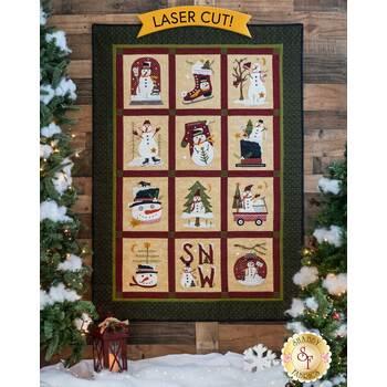 Winter Wonderland Quilt Kit - Laser Cut