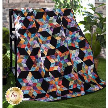 August Stars Quilt Kit - Floragraphix V