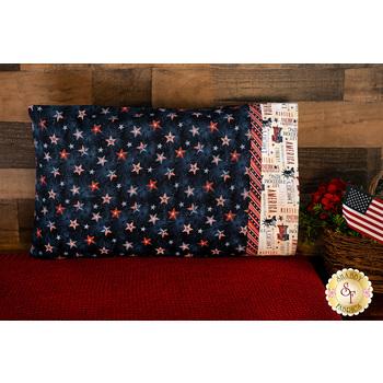 Magic Pillowcase Kit - Liberty Lane - Standard Size - Dark Blue