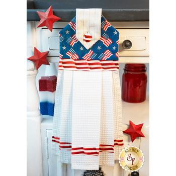Hanging Towel Kit - America the Beautiful - Blue