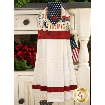 Hanging Towel Kit - Liberty Lane - White