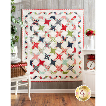 Twisting With The Stars Quilt Kit - Sunday Stroll