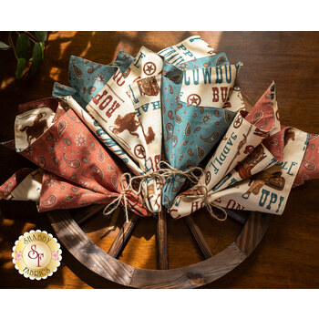 Cloth Napkins Kit - Home On The Range - Makes 4 - RESERVE