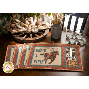 Placemat Kit - Home On The Range - Makes 4