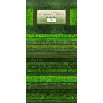Emerald Forest  Strip Pack by Wilmington Prints