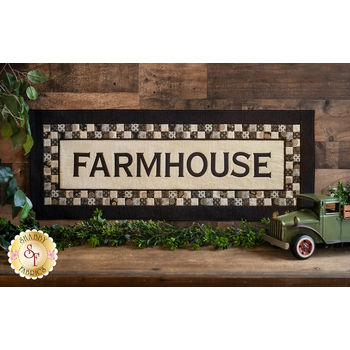 Farmhouse Table Runner, Wall Hanging, or Pillow Kit - Maryland - Laser Cut