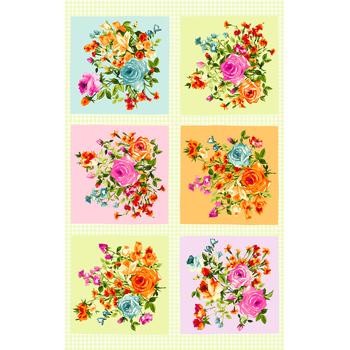 Bloom On! MAS10070-Z Multi Color Panel Full by Maywood Studio