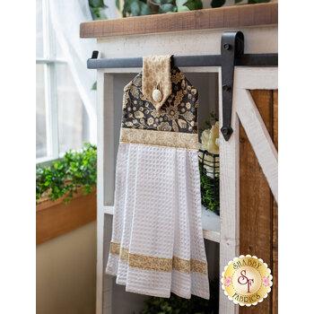 Hanging Towel Kit - Maryland - Black