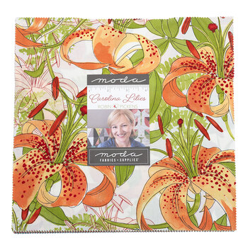 Carolina Lilies  Layer Cake by Robin Pickens for Moda Fabrics