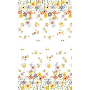 Susybee Sweet Bees SB20361-100 by Clothworks