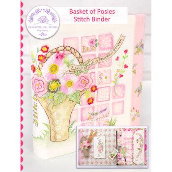 Basket of Posies Stitch Binder Pattern