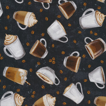 Cafe Culture 24486-99 by Northcott Fabrics