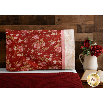 Magic Pillowcase Kit - Sweet 16 - Standard Size - Burgundy