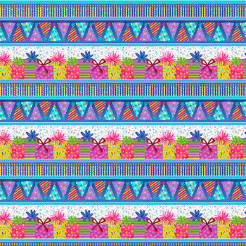 Party Line 1804-77 Party Stripe by Blank Quilting Corporation