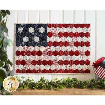 Hexi Honeycomb Flag Kit - American Gathering