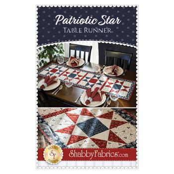 Patriotic Star Table Runner Pattern
