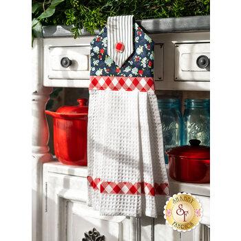 Hanging Towel Kit - Sunday Stroll - Navy