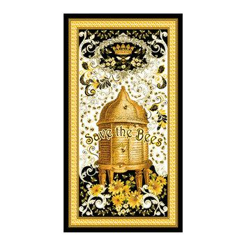 Buzzworthy 9967M-12 - Panel Black/Gold by Kanvas Studios