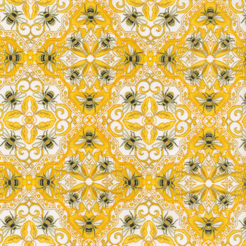 Buzzworthy 9970M-33 Yellow/Gold by Kanvas Studios
