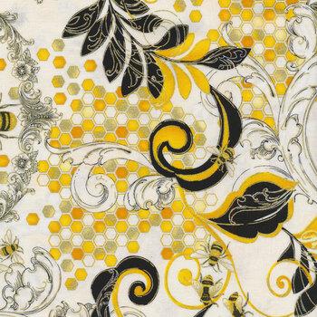 Buzzworthy 9971M-09 White/Gold by Kanvas Studios