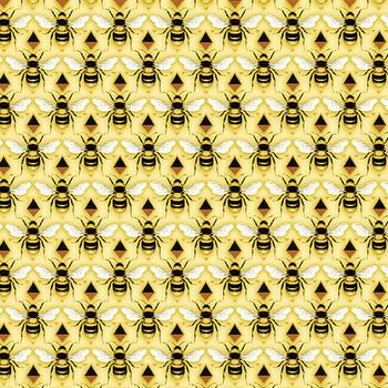 Buzzworthy 9972M-33 Yellow/Gold by Kanvas Studios