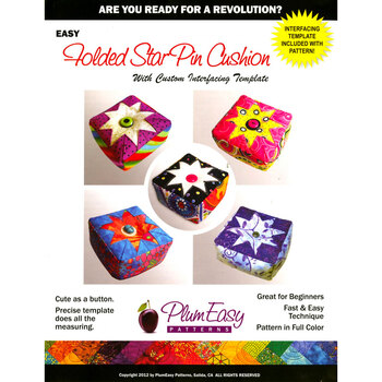 Folded Star Pin Cushion Pattern